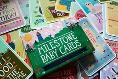 Milestone Baby Cards Krittewitt