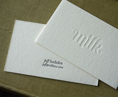25 new awesome business cards - best of may 2011 - Blog of Francesco Mugnai