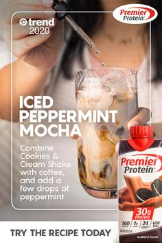 Protein Shakes You& Love Protein Shake Recipes, Protein Foods, Smoothie Recipes, Healthy Smoothies, Healthy Drinks, Healthy Snacks, Healthy Tips, Healthy Eating, Moca