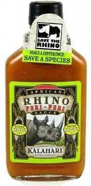 African Rhino Peri-Peri Pepper Sauce - Extra Hot