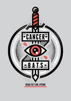 Aesthetic Imperium — saintgraphic: Nuovi designs per i Cancer Bats, ...