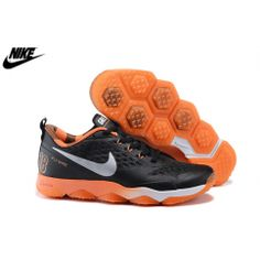 half off 62681 bf9f8 Mens Nike Zoom Hypercross Training Shoes Black White Metallic Silver  Brilliant Orange 684635-081 Cheap