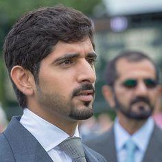 Hamdan bin Mohammed bin Rashid Al Maktoum y Mohammed bin Rashid bin Saeed Al Maktoum,  Goodwood, RU, 07/2016. Foto: ali_essa1