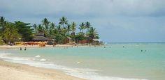 Praia do Mutá é uma das mais belas de Porto Seguro, na Bahia.