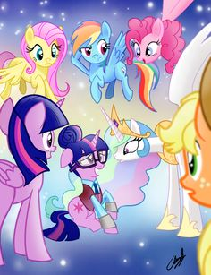 Well, at least she is not an alicorn....that would be too much