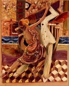 Sabzi Tango II painting is shipped worldwide,including stretched canvas and framed art.This Sabzi Tango II painting is available at custom size. Tango Art, Tango Dance, Shall We Dance, Just Dance, Romantic Dance, Art Deco, Dream Art, Art Festival, Paintings For Sale