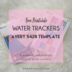 Hey everyone! I am collaborating with Avery Products and we are going to provide you with easy to print templates to make your own stickers for your planner! They sent me all kinds of labels from little squares to large scallop round labels. With these avery products you will easily create stickers just by printing!...Read More