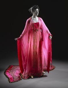Erté (Romain de Tirtoff), Costume for Ganna Walska as Floria Tosca, 'Tosca', 1920.