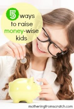 As long as our kids are in our homes, it's never too early -- or too late -- to teach them about handling money responsibly. This post outlines five practical ways to show our kids how to save and use money wisely.