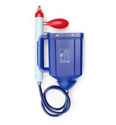 LifeStraw Family is a large volume water purifier providing up to 4750 gallons or 18000 liters of water, enough to supply a family of five with clean drinking water for up to three years. It's useful