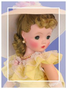 Madame Alexander Cissy 50s  My Mom sold MA dolls to stores in the 50's, she took the sample dolls as commission.....I was a lucky little girl