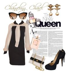 """""""Channeling Chanel"""" by marhay-ini on Polyvore featuring Chanel"""