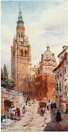 Toledo Cathedral from The Project Gutenberg eBook, Cathedral Cities of Spain, by W. W. Collins