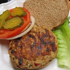 Recipe for Turkey Burger with Sun-Dried Tomatoes and Feta Cheese