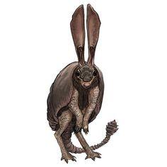 Sand Critter by Gabe-McAlpine on DeviantArt Fantasy Monster, Monster Art, Monster Hunter, Alien Creatures, Fantasy Creatures, Mythical Creatures, Creature Concept Art, Creature Design, Fantasy Inspiration