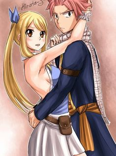 Lucy Heartphillia / Natsu Dragneel. ~Fairy Tail #FairyTail #Nalu #NatsuELucy