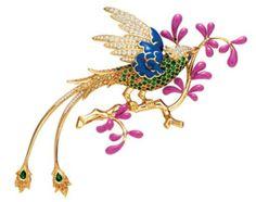 환상적인 보석 예술 테마 디자인, 티파니의 동물브로치 : 네이버 블로그