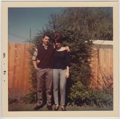 Square Vintage 60s PHOTO