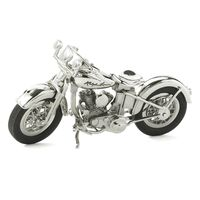 Ralph Lauren Silver Plated Pewter Motorcycle $895