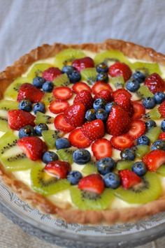 Another Fruit Flan dish because I LOVE FRUIT FLAN!!! ... and I'm tired of paying 30 bucks for it at the store. That too.