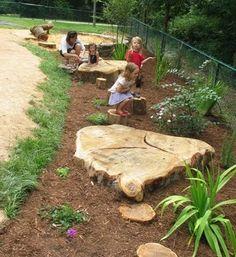 More kids garden ideas.