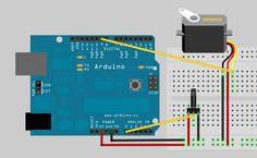 Arduino servo #arduino #servo #sketch