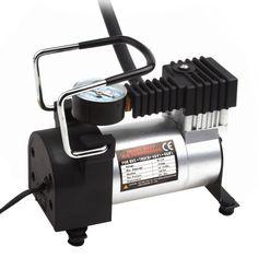 ร้อนแบบพกพาเครื่องอัดอากาศหนัก12โวลต์140PSI/965kPAปั๊มไฟฟ้ายางI Nflatorเครื่องมือการดูแลรถยนต์
