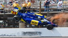 mike conway 2013 indy 500 | VIDEO: Mike Conway Crashed and Went Flying at the Indy 500 | The News ...