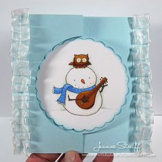 Designer @Jeanne Streiff is sharing a tutorial on the blog today showing how she created this fun Flip-Its card.  Check it out at: http://sizzixblog.blogspot.com/2012/12/merry-song-flip-its-card.html