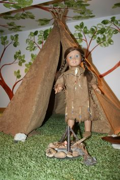 Native American Tipi for American Girl doll