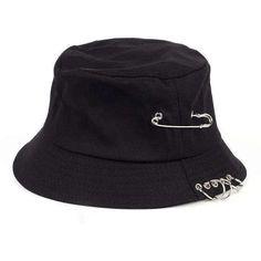 Look Com Bucket Hat, Mens Bucket Hats, Black Bucket Hat, Bucket Cap, Bucket Hat Outfit, Fille Indie, Bob Chapeau, Hip Hop Hat, Accesorios Casual