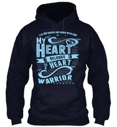 CHD Heart Warrior - Does your heart belong to a heart warrior? Only 2 days left to buy.