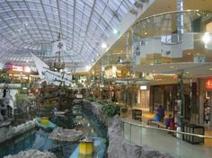 West Edmonton Mall, Alberta, Canada. Largest mall in the Americas