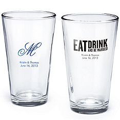 Sayings for the party favors: Eat, Drink, and Be Married.  Stephen and Melissa  March 23, 2013