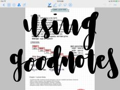 How I use Goodnotes to create well-organized notes! School Plan, Law School, Back To School, Planner Apps, Planner Stickers, Goodnotes 4, Knowledge, Writing, How To Plan