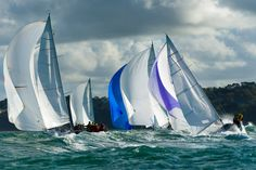 fast downwind racing on the Solent