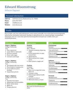 cv resume template search resume