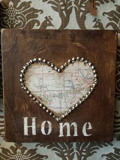 Home is where the Heart is. Central Kansas by whattawaist on Etsy