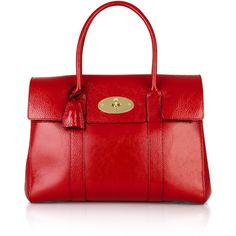 Mulberry Bayswater leather bag ($615) ❤ liked on Polyvore
