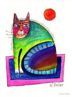 """""""Mini Cat"""" - Karin Zeller"""