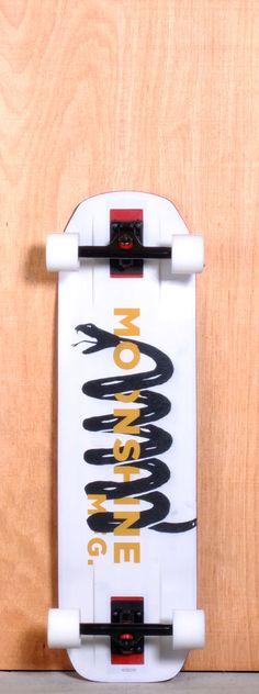 "MOONSHINE 35"" RUM RUNNER LONGBOARD COMPLETE at Longboarder Labs"