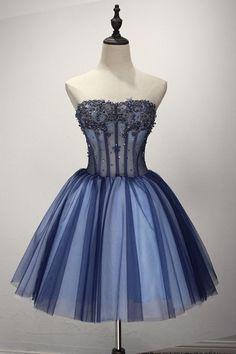Charming Homecoming Dress, Elegant Tulle Homecoming Dresses, Short