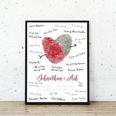 Guest book alternative to replace traditional guest book registries.  A stunning detail for your wedding, and a beautiful custom art piece for your home. See more here: https://www.flutterbyeprints.com/collections/your-own-prints
