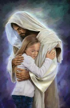 Let Jesus hug you. HE ♡ U                                                                                                                                                                                 More