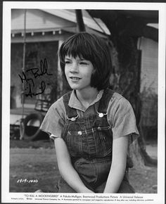 Mary Badham---Scout in To Kill A Mockingbird