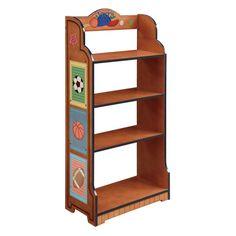 Fantasy Fields Little Sports Fan Personalized Bookcase - TD-0018AP