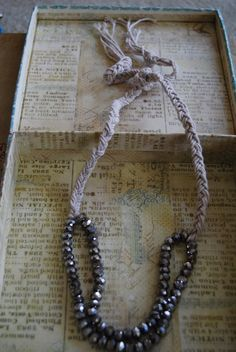 Ever Thine necklace by Kurrajong Polo Co