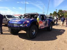 #TrophyTruck Nr. 21 #Vildosola striving to repeat #Baja1000 2010 success racing to @La_Paz_BCS