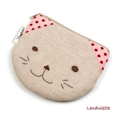 small kitty wallet