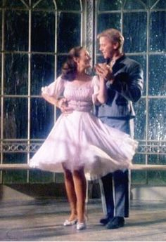 """I Am 16 Going On 17"" gazebo dance with Liesel and Rolf. Dorothy Jeakins designed this dress for Charmian Carr in the 1965 movie ""The Sound of Music""."